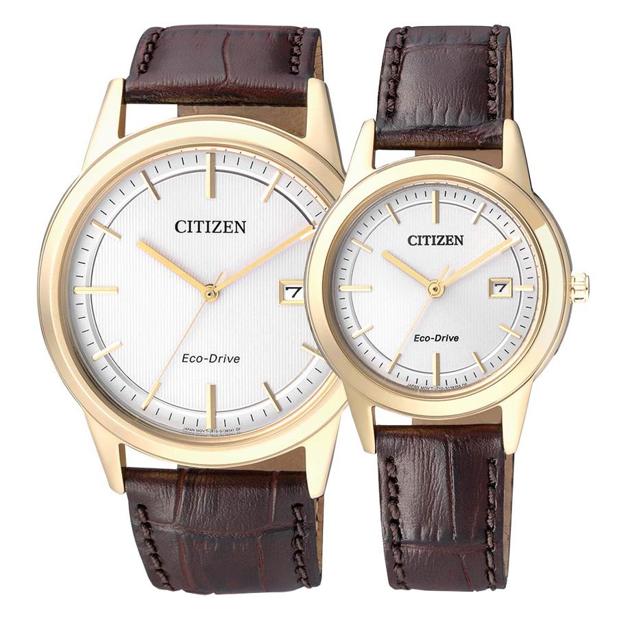ساعت مچی ست سیتیزن مدل AW1233-01A و FE1083-02A