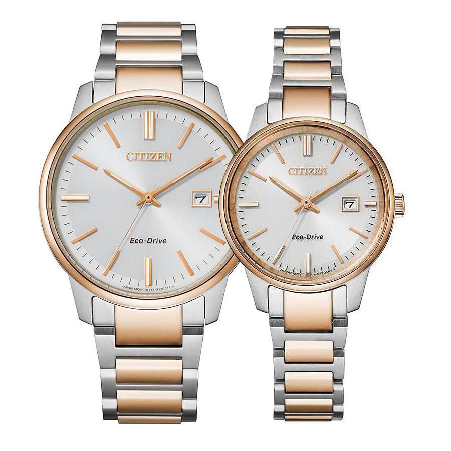 ساعت مچی ست سیتیزن مدل BM7526-81A و EW2596-89A