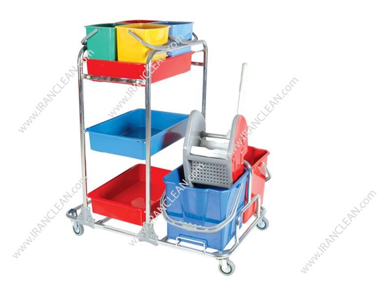 ترولی نظافتی ام تی کو  مدل نظافتی KHA 3104