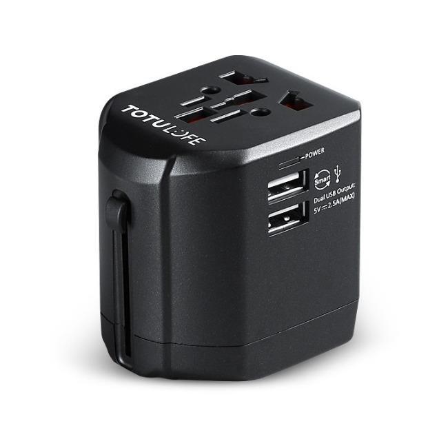 آداپتور مسافرتی چندمنظوره توتو TOTU AC10 Universal travel adapter