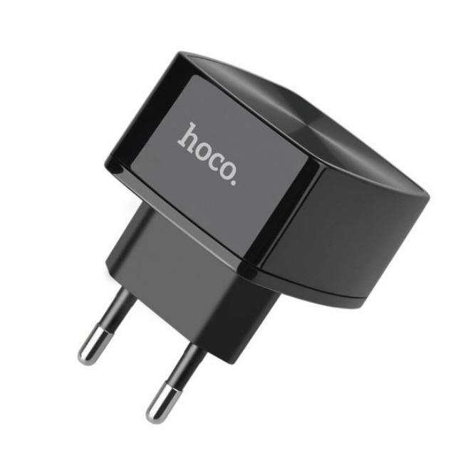 آداپتور تک پورت شارژ سریع هوکو Hoco C70A Cutting-edge single port QC3.0 charger(EU)