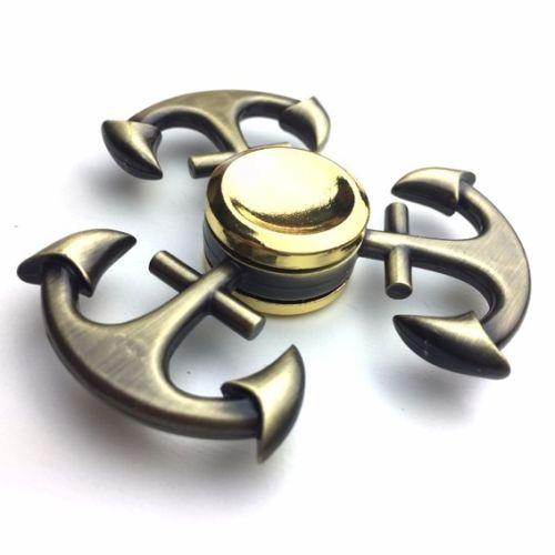 خرید  اسپینر فلزی طرح لنگر Focus Fidget Spinner