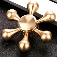 اسپینر فلزی اسپینر فلزی شش پره مولکولی - Fidget Spinner Metal Molecule