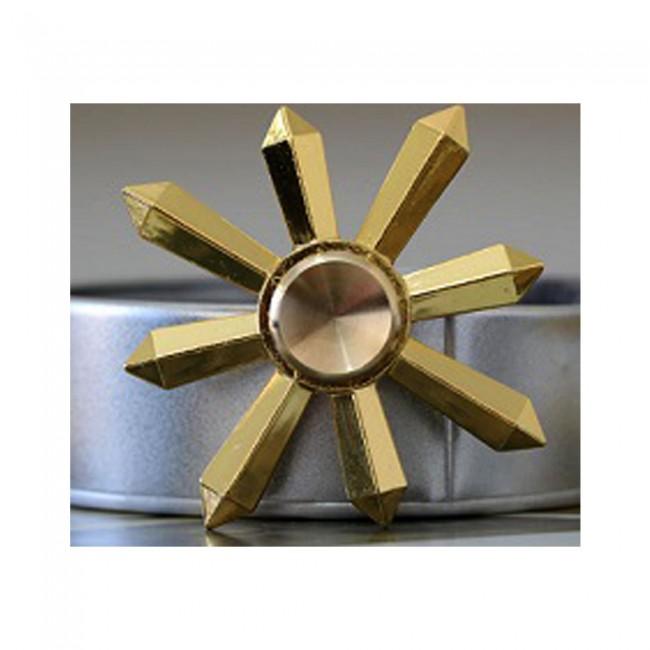 اسپینر فلزی Fidget Meatl Spinner - اسپینر فلزی شش پره مثلثی