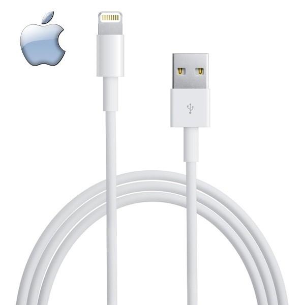 کابل شارژ Apple Apple Lightning Cable کابل شارژ 1 متری اورجینال آیفون 7 و 7 پلاس