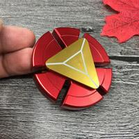 اسپینر فلزی طرح آیرون من - Iron Man Metal Fidget Spinner