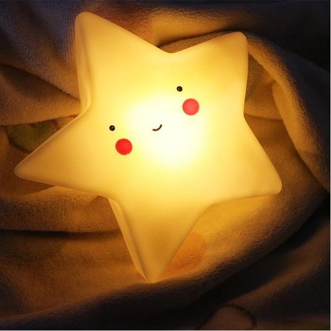 چراغ خواب LED طرح ستاره