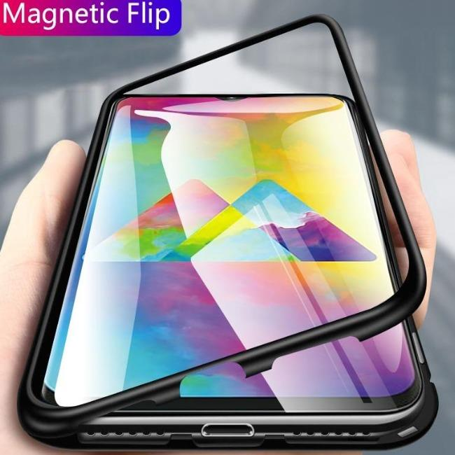 قاب مگنتی شیشه ای سامسونگ Magnet Bumper Case Samsung Galaxy A30
