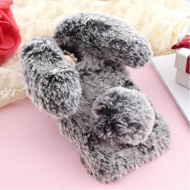 قاب خردار خرگوشی Rabbit Fur Case Samsung Galaxy J6