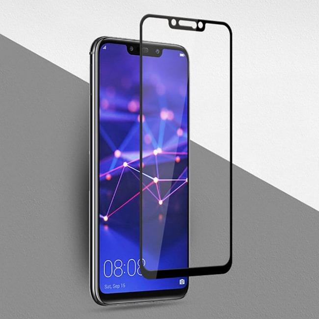 فول گلس فول چسب هواوی Full Glass Huawei Mate 20 Lite