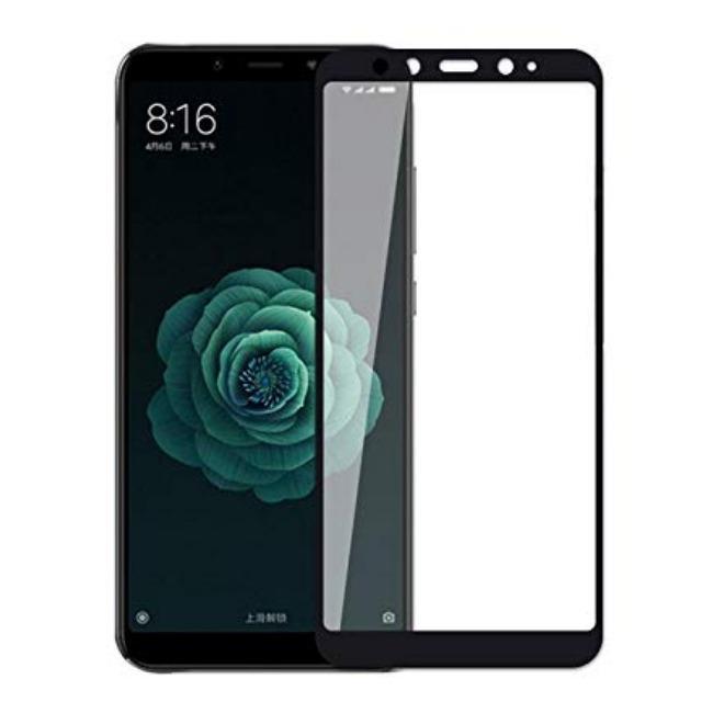 فول گلس فول چسب شیائومی Full Glass Xiaomi Mi 6x/A2