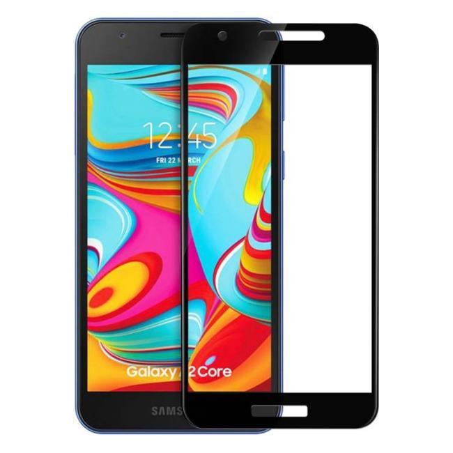 فول گلس فول چسب سامسونگ Full Glass Samsung Galaxy A2 Core