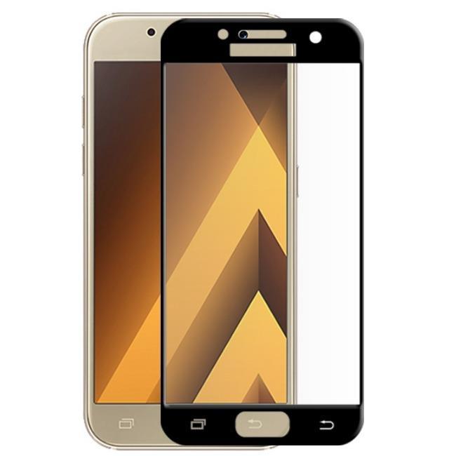 فول گلس تمام چسب گوشی سامسونگ Full Glass Samsung Galaxy A3 2017-A320