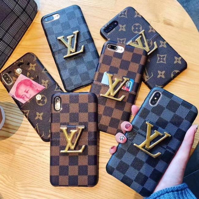 قاب چرمی لویز ویتون Louis Vuitton Case iPhone Xs Max