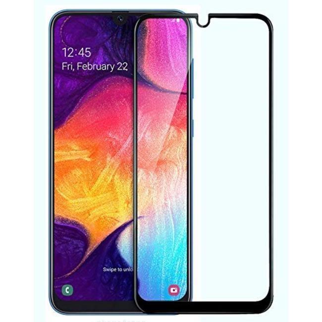 فول گلس فول چسب سامسونگ Full Glass Samsung Galaxy A30s