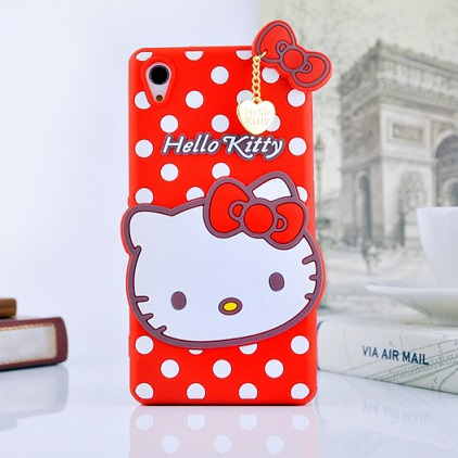 قاب ژله ای عروسکی هلوکیتی Hello Kitty Case for Sony Xperia Z3