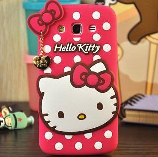 قاب ژله ای عروسکی هلوکیتی Hello Kitty Case for Samsung Galaxy Grand