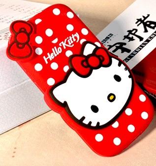 قاب ژله ای عروسکی هلوکیتی Hello Kitty Case for HTC One M7