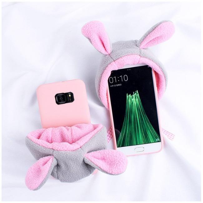 قاب زمستانی کلاه صورتی Pink Hat Case Galaxy S6 Edge