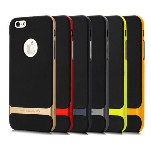 قاب چرم فلز Rock Case for Apple iPhone 6 Plus