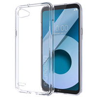 قاب ژله ای شفاف Slim Soft Case LG Q6