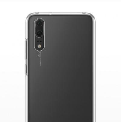 قاب ژله ای شفاف Slim Soft Case Huawei P20