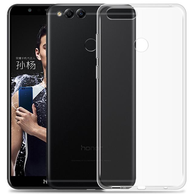 قاب ژله ای شفاف Slim Soft Case Huawei Honor 7x