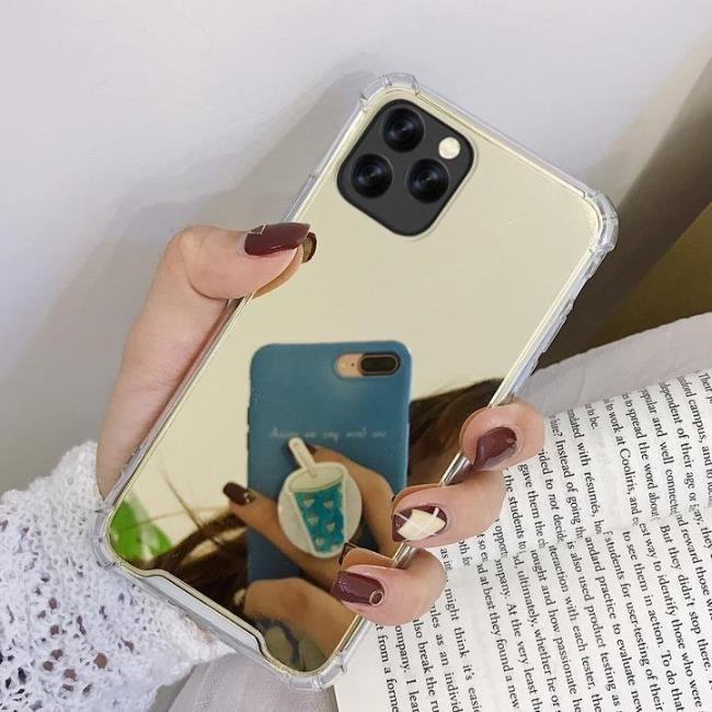 قاب ژله ای آینه ای آیفون TPU Mirror Case Apple iPhone 11