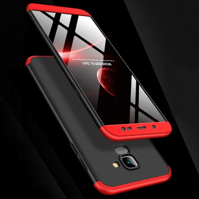 قاب 3 تیکه 360 درجه سامسونگ GKK Case Galaxy J6 Plus