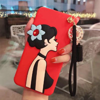 قاب ژله ای Hello Lady New Case Huawei Nova