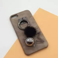 قاب مخملی Love Fur Star With Ball Case Apple iPhone 6 Plus