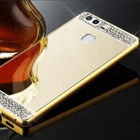 قاب محکم Diamond Mirror Case for Huawei P9 قاب آینه ای نگین دار