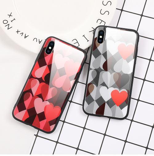 قاب محکم BF Glass Case Apple iPhone 7 Plus
