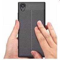 قاب ژله ای طرح چرم Auto Focus Case Sony Xperia XA 1