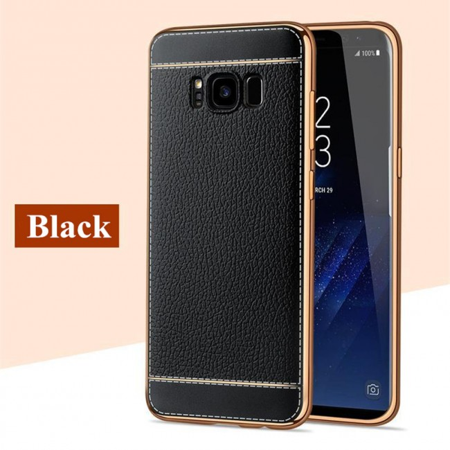 قاب ژله ای Dot Leather Case Samsung Galaxy S8