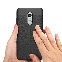 قاب ژله ای طرح چرم Auto Focus Case Xiaomi Redmi Note 4