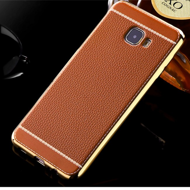 قاب ژله ای Dot Leather Case Samsung Galaxy C7