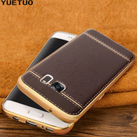 قاب ژله ای Dot Leather Case Samsung Galaxy S7 Edge