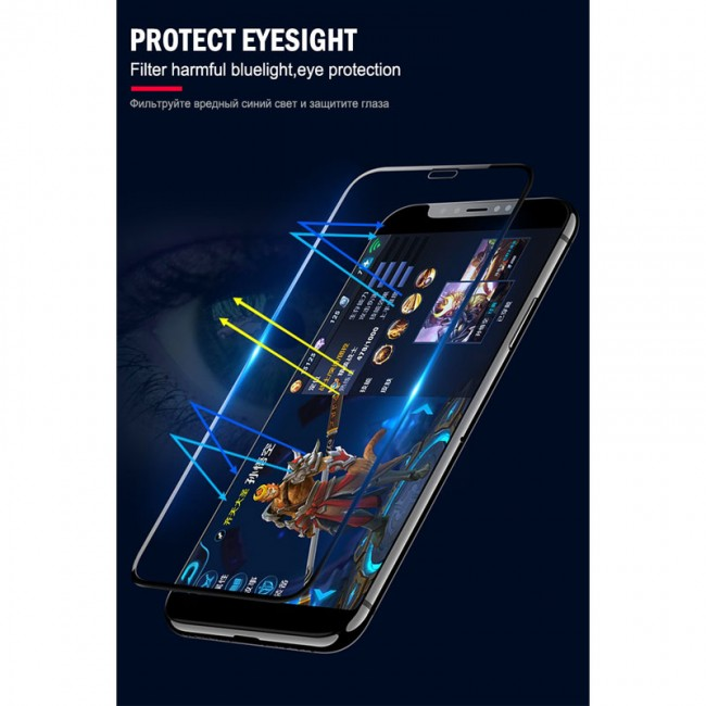 محافظ صفحه نمایش 5D فول چسب آیفون Kenzo 5D Screen Protector Apple iPhone XR