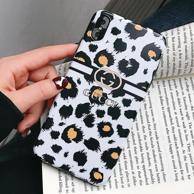 قاب ژله ای پلنگی Leopard White TPU Case iPhone Xr