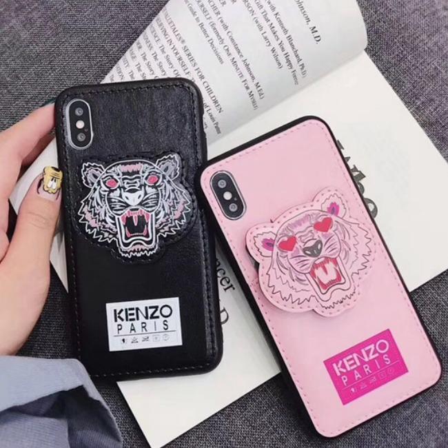 قاب چرمی طرح ببر Tiger Leather Case iPhone 7