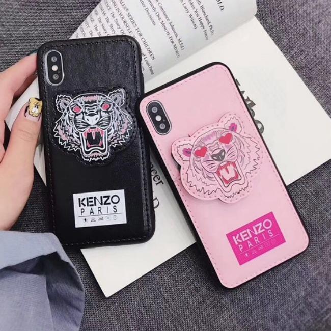 قاب چرمی طرح ببر Tiger Leather Case iPhone X/Xs