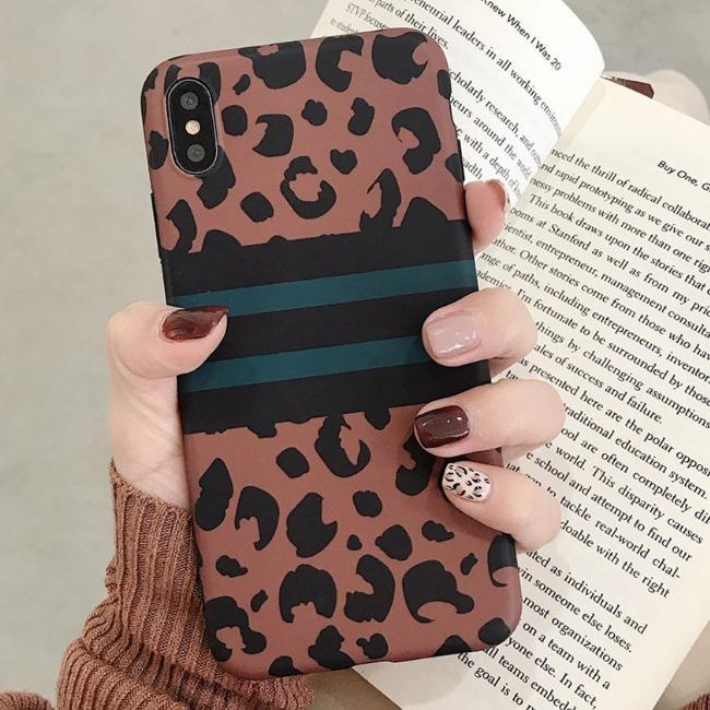 قاب ژله ای پلنگی Leopard Case Apple iPhone X/Xs
