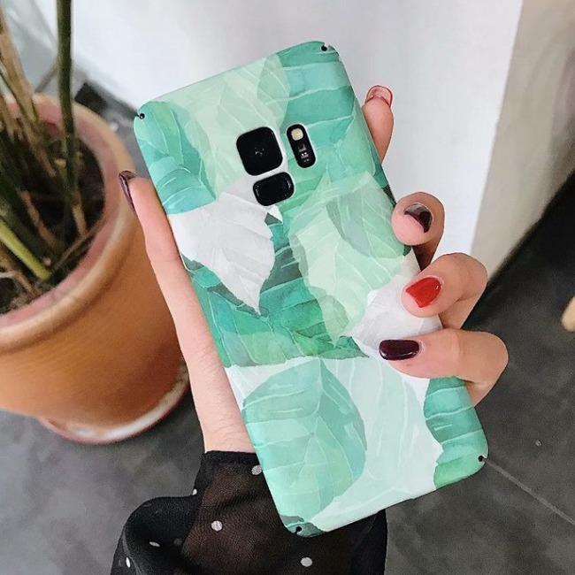 قاب طرح دار 360 درجه Flower Case Samsung Galaxy S8 Plus