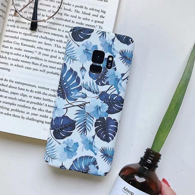 قاب طرح دار 360 درجه Flower Case Samsung Galaxy S9 Plus