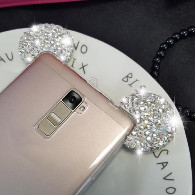 قاب ژله ای Diamond Mickey Case for LG K7