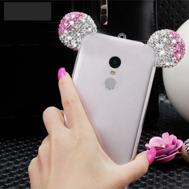 قاب ژله ای Diamond Mickey Luxury 3d Case for Xiaomi Note 2 Pro