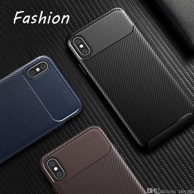 قاب ژله ای طرح کربن Autofocus Carbon Case iPhone Xs Max