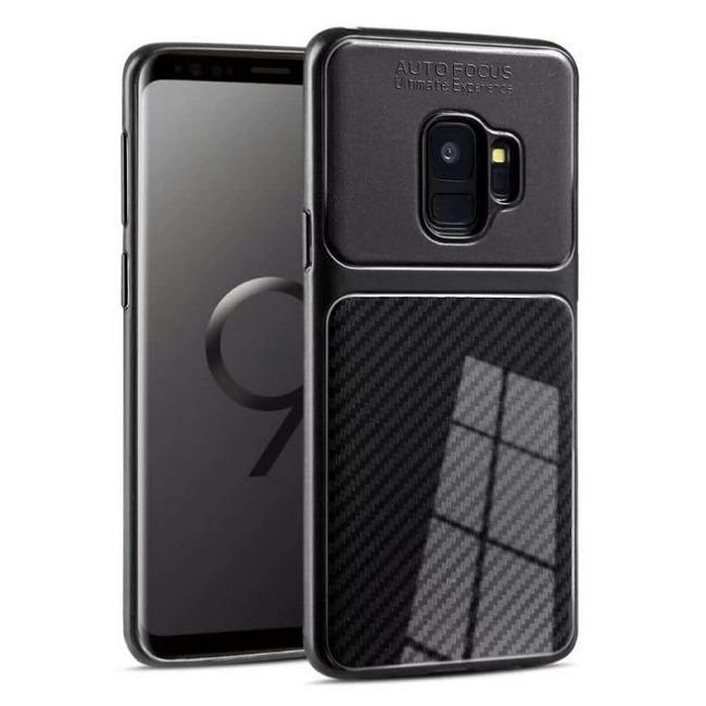 قاب ژله ای طرح کربن Autofocus Carbon Case Galaxy J4 Plus
