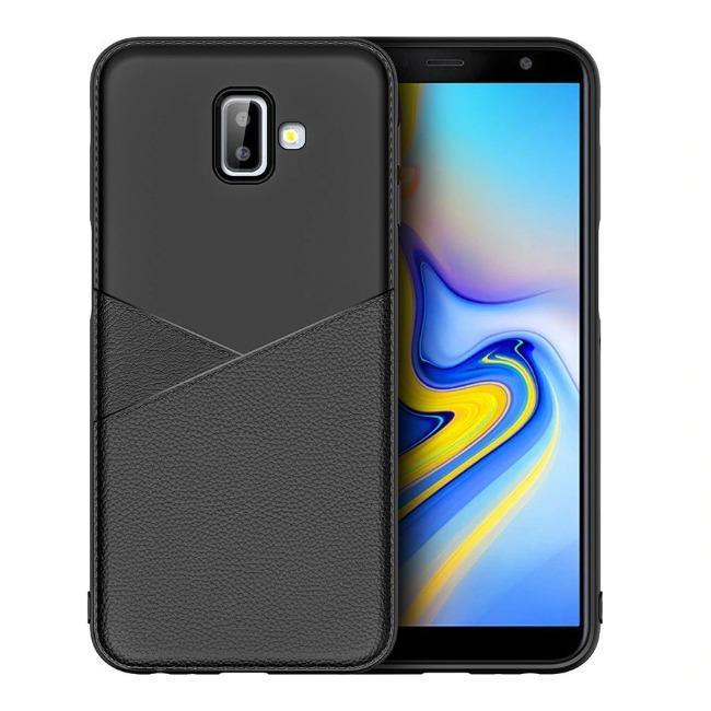 قاب ژله ای طرح چرم Samsung Galaxy J6 2018